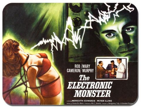 The Electronic Monster Film Poster Mouse Mat. High Quality Movie Mouse Pad Gift